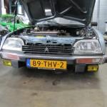 De CX 25 RI met NL kenteken.