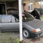 Auto ook maar even schoongemaakt