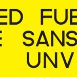 Het stickertje, het gele behoort transparant te zijn maar is voor de duidelijkheid even geel.