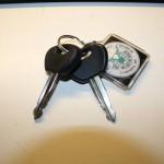 De sleutelbos.